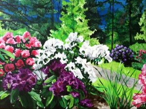 Rhododendrons by Christy Berry